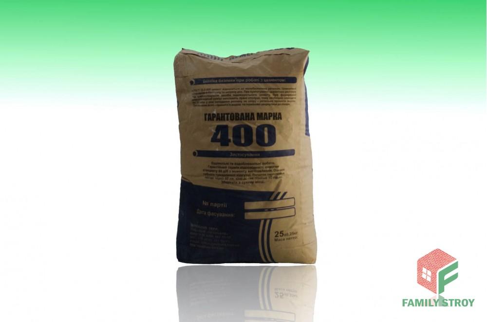 Цемент ПЦ - 400, 25 кг