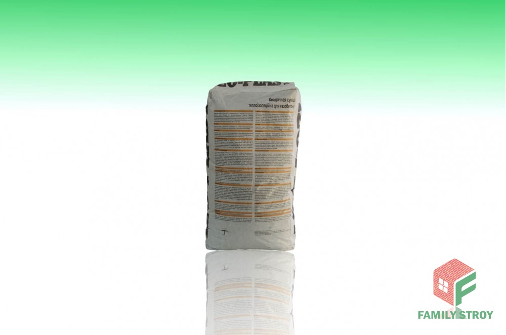 Смесь для кладки пено-и газоблока IZO-PLAST, 25 кг (зима)