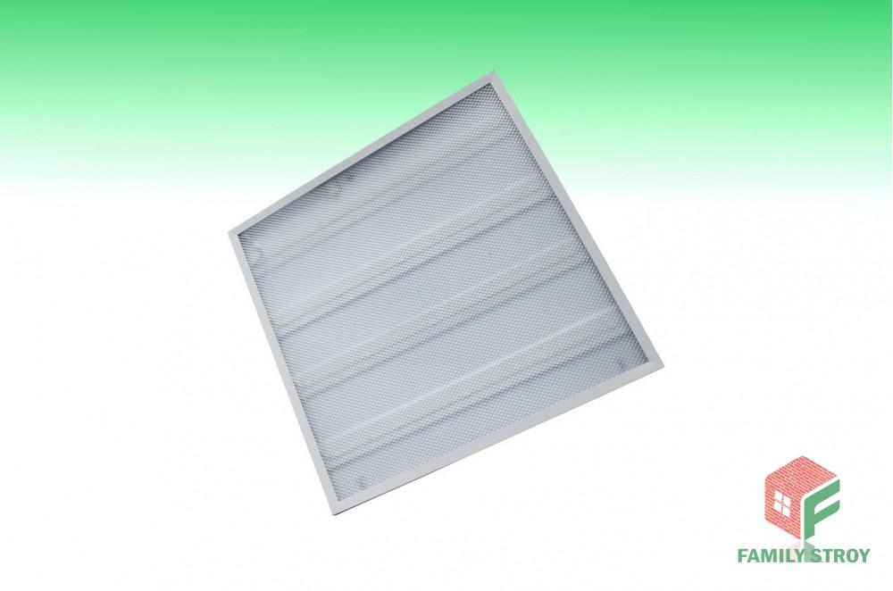 LED-светильник встр. с лампами 3000люм, 40Вт Prismatic