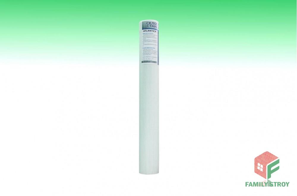 Сетка штукатурная 1х50м 75гр/м2 ячейка 5х5 белая