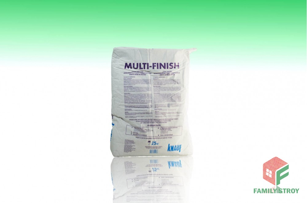 Шпатлевка МультиФиниш, 25 кг сухая