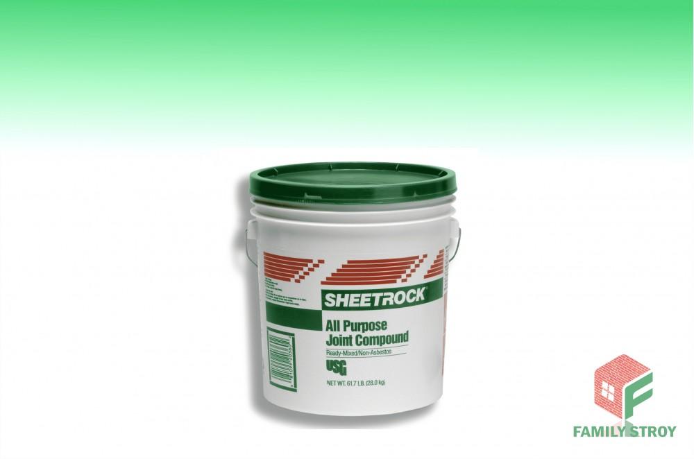 Шпатлевка готовая Шитрок (Sheetrock), США, 5,4кг