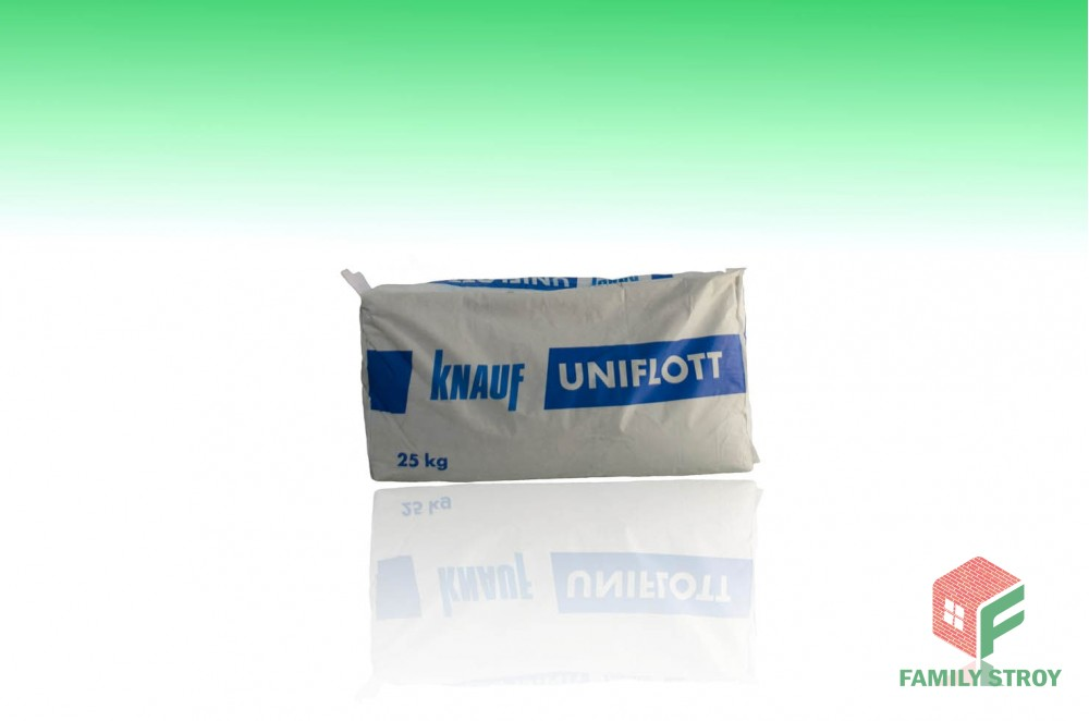 Шпатлевка Унифлот, 25 кг сухая