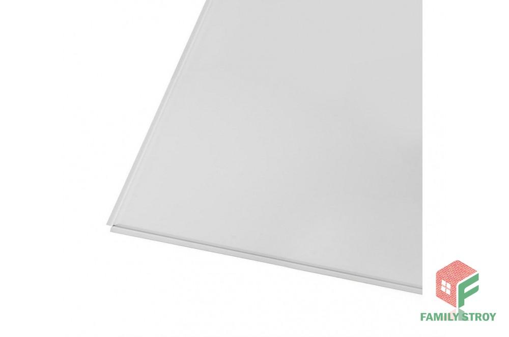 Панель металлическая потолочная 600*600мм (белая)